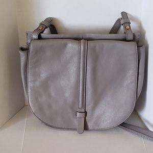 Fossil Grey Crossbody Bag